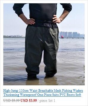Roupa de pesca tipo Wader