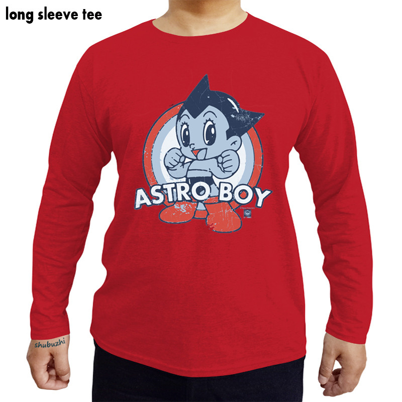 96c69cc1 Astro Boy Target Licensed Adult Graphic Tee Shirt men cotton tees brand boy  gift tee long sleeve male tshirt-in T-Shirts from Men's Clothing on ...