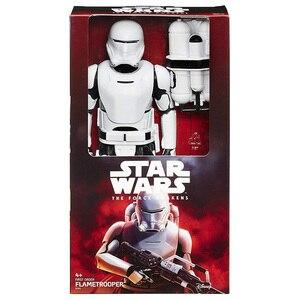 Image 5 - 30 см Звездные войны, флакопер Chewbacca, штурмовик, Дарт Вейдер, кило Рен Финн, фигурка, Подарочная игрушка для детей, коллекционная кукла
