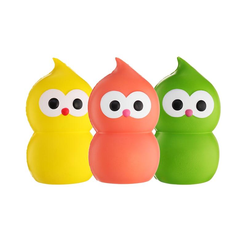 Calabash Man Cucurbit 13cm Slow Rising Soft Collection Gift Decoration Toy Relief Stress Kids Children