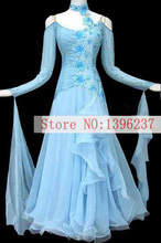 Ballroom Competition Dance Dress 2017 New Of Summer Modern Waltz Tango Dancing Costume Adult Standard Ballroom Dresses