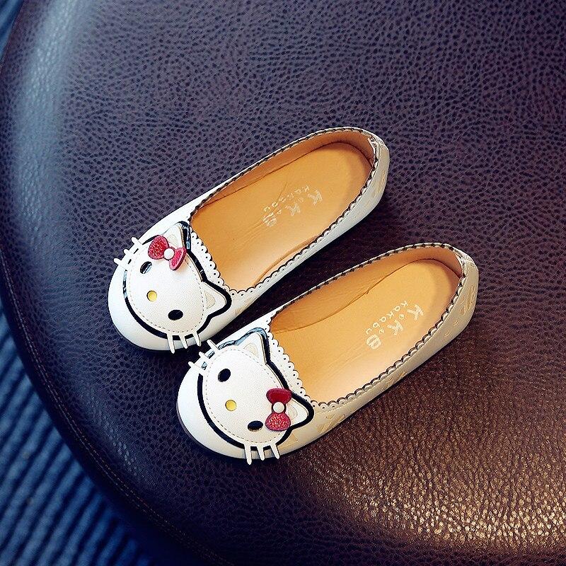 niños para animados princesa niños cuero casual bebé estudiante niña de guisantes de para dibujos zapatos 2016 Zapatos otoño 5SxB5w