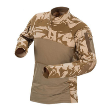 Tactical Army Combat Shirt Men Long Sleeve Camouflage Military T Shirt Rip-Stop Multicam Paintball Airsoft Uniform Clothing emerson combat shirt military army airsoft tactical long sleeves clothing hunting paintball camouflage shirts clothes acu em8461