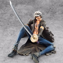 NEW hot 18cm One Piece Injured Trafalgar Law action figure toys collector Christmas gift doll no box