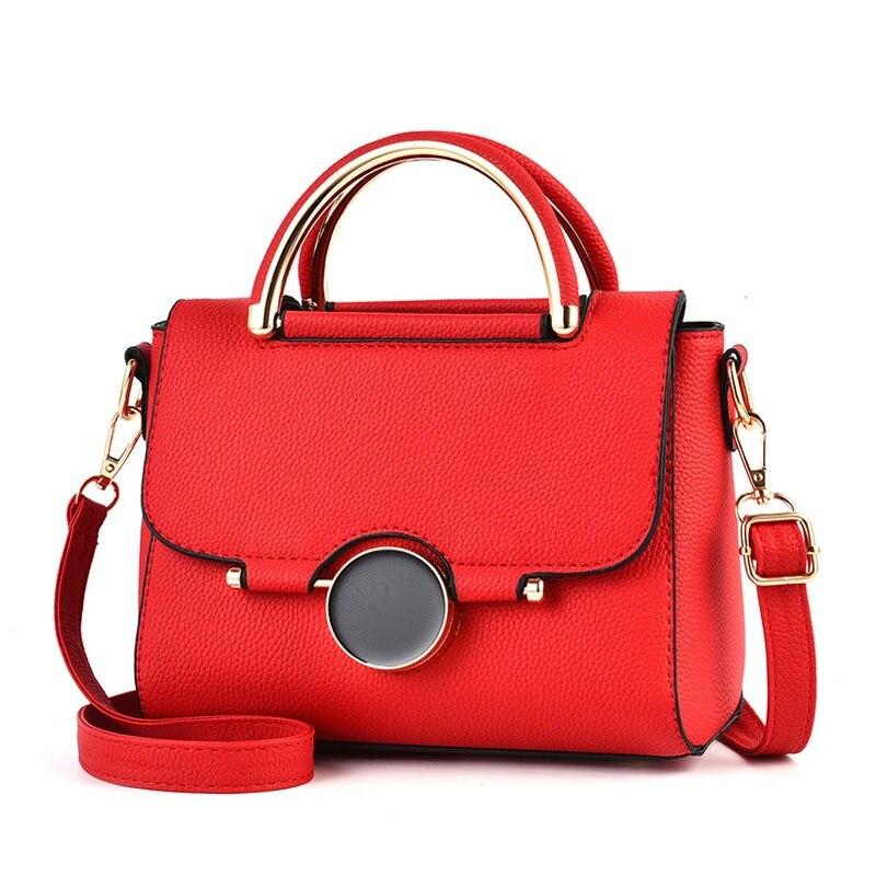 Новый высокое качество Для женщин Сумки металла короткая ручка женские сумки на ремне Средний Для женщин сумка-мессенджер сумки Портфели