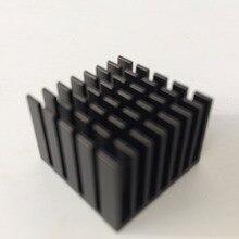 10 יח\חבילה 22x22x15mm אלומיניום רדיאטור גוף קירור צלעות קירור אלקטרוני שבב COOLER קירור