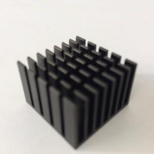 Image 1 - 10 teile/los 22x22x15mm Aluminium kühler Kühlkörper Kühlkörper für elektronische Chip KÜHLER kühlung