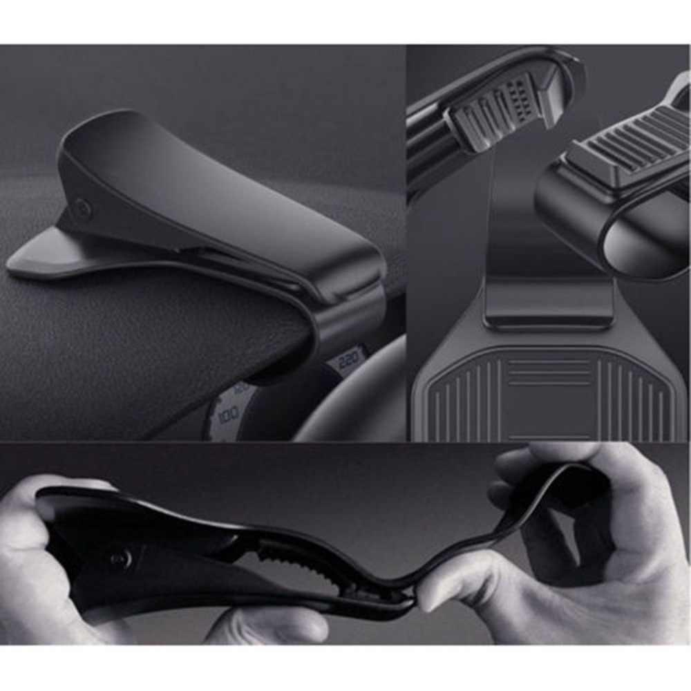 Ponsel Dasbor Mobil Pemegang HUD Desain Slip Mobil Cell Dudukan Ponsel untuk Berkendara Yang Aman untuk Smartphone