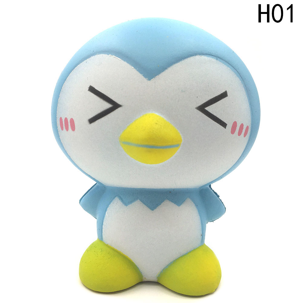 Cute Penguins PU Slow Rising Pressure Rebound Cream Scented baby Toys Fun antistress novelty Kinetic Funny squeeze toy