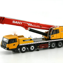 Сплав модель 1:43 Масштаб SANY STC500 Автомобильный Кран Инженерная техника транспортные средства литья под давлением игрушечная модель для украшения коллекции