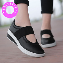 TESILIXIEZI Autumn Women PU Loafers Fashion Ballet Flats White Black Shoes Ladies Slip On Breathable Boat Shoes Moccasins Casual 9 colors 2018 spring women loafers fashion ballet flats sliver white black shoes woman slip on boat casual shoes moccasins s043