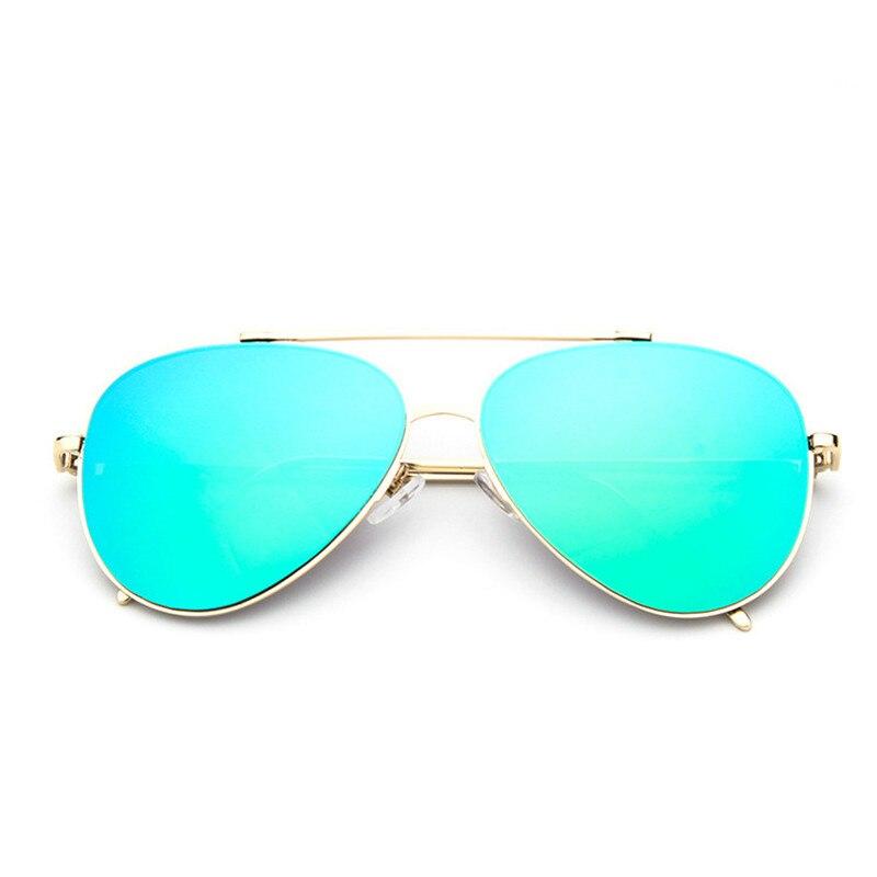 79641c52d9d8 Luxury Aviator Sunglasses Women Brand Designer Vintage Sun Glasses For Women  Female Sunglasses Coating Mirror Flat