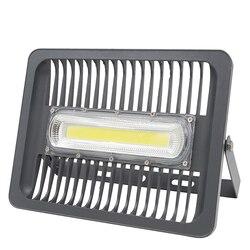 Luz de inundación LED IP65 impermeable 100W 50W 30W 220-240V foco de luz de inundación al aire libre lámpara de pared lámpara de jardín blanco cálido frío blanco
