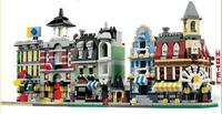 1320 Pcs 5 In 1 Model Building Kit Compatible With Lego City Mini Creators Cafe Corner
