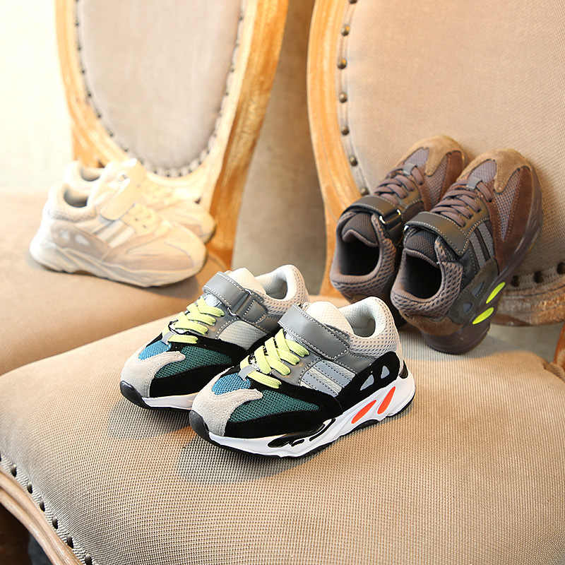 494e46c5c6f ... Boys Girls Fashion Brand Sneakers Children School Sport Trainers Baby  Toddler Little Big Kid Casual Skate ...
