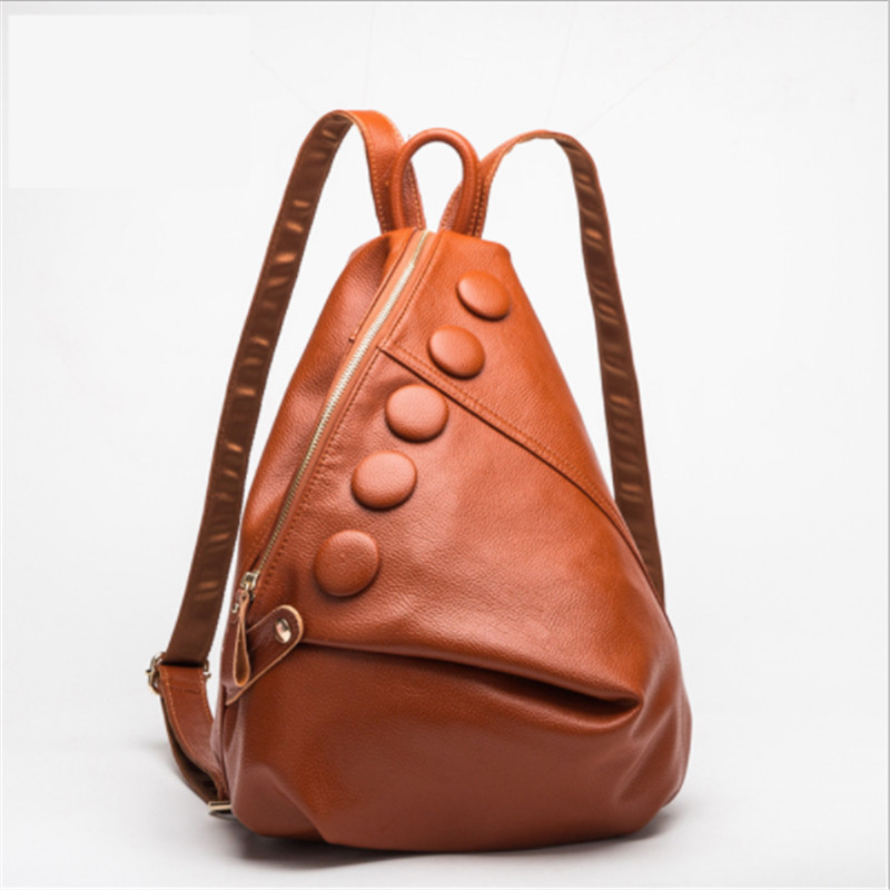 Fashion Backpacks for Women Men Genuine Leather Cute School Bags for Teenage Girls Luxury Designer Travel Totes Backpack Bags brands leather school backpacks for boys black fashion designer school bags hooded travel men backpack rainproof luggage new