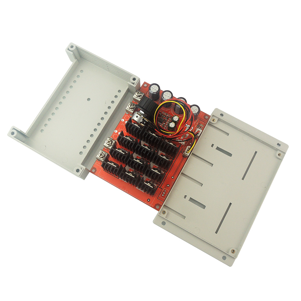 DC 10-50V 60A Motor Speed Control PWM HHO RC Controller 12V 24V 48V 3000W MAX digital dc motor pwm speed control switch governor 12 24v 5a high efficiency