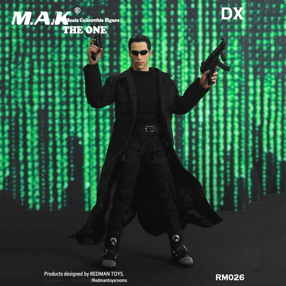 Free Shipping RM026 1:6 Scale 12 inches THE ONE DX Neo Male Full Set Action Figure Model Toys for Collection Birthday Gift 1 6 scale action figure accessories ak47 automatic rifle gun model toy for 12 figure model gift collection free shipping