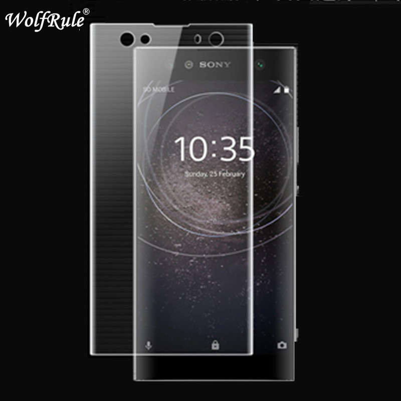 2pcs Full Cover Screen Protector Film For Sony Xperia XA2 Ultra Soft TPU Film For Sony Xperia XA2 Ultra Nano Anti Burst Film