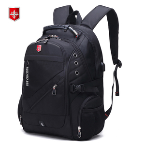 Image 3 - RUISHISABER Waterproof Man Backpack Fit 17 Inch Laptop USB Charging Travel Backpacks School Bag Multi Layer Pocket Male Mochila
