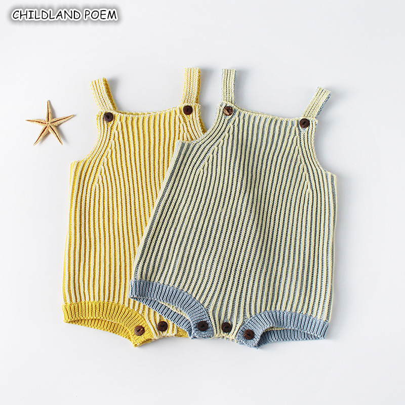 Knitted Baby Clothes Knit Baby Rompers for Boys Girl Newborn Infant Jumpsuits Overalls Baby Girl Romper New Born Baby Boy Romper