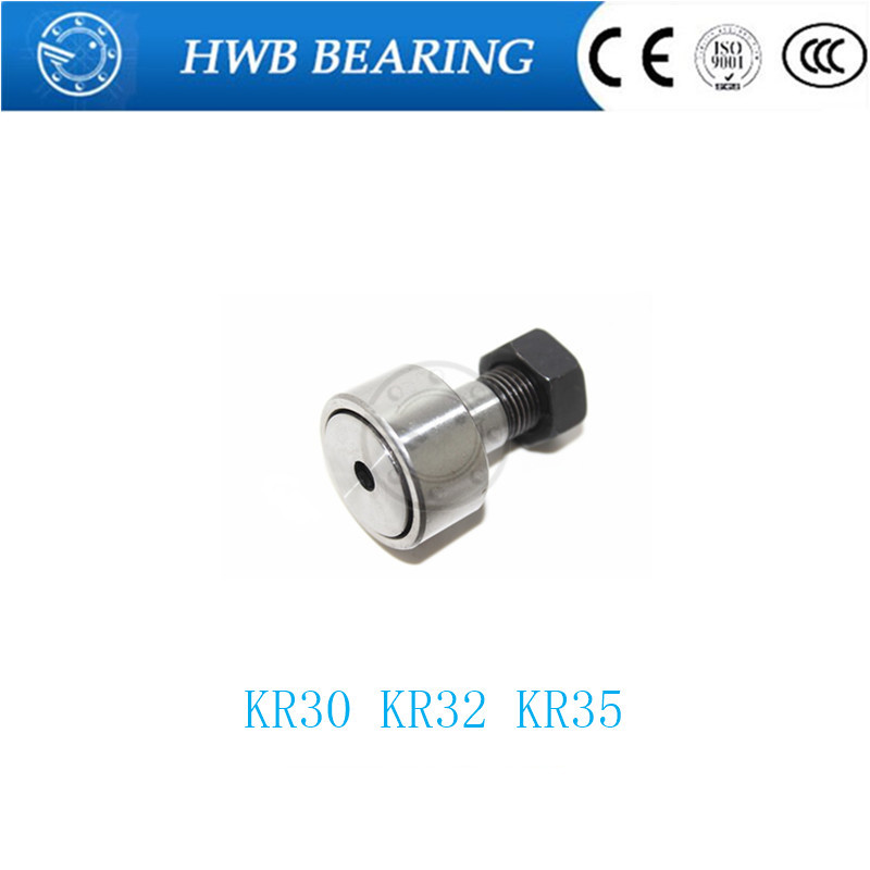(1 PCS) KR30 CF-12 KR32 CF-12-1 KR35 CF 16 Cam Follower Needle Roller Bearing CF12 CF-12-1 CF 16 FREE SHIPPING chip for hp enterprise cf 360 363x m 553x 553 n cf 362 363 new toner refill kits chips fuses free shipping