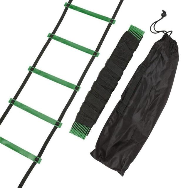 4/6/7/9/12/14 Rung Nylon Straps Agility Training Ladders Fitness Equipment 2