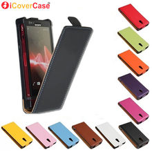Magnetic Flip Coque case For Sony Xperia Z1 Z2 Z3 Mini Z4 Z5 Compact mini Pouch Cover Mobile Phone Book(China)