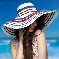 Высокое качество богемный Стиль женская пляжная шляпа ручной работы соломенная шляпа от солнца большой соломенной шляпе туристический пля...