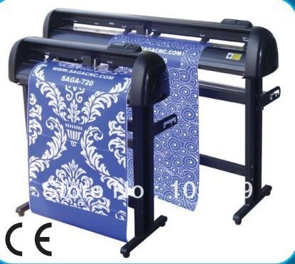 2017 saga YH720IP vinyl contour cutting machine original FLEXI software free ship laser plotter cutter with