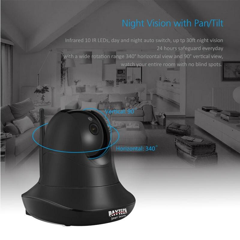 bilder für Daytech 1080 p ip-kamera wifi home security kamera netzwerk babyphone ir nachtsicht zwei-wege audio motion erkennung cmos