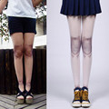 2017 New Women Auturm Spring tattoo Joint Stockings Jointed Doll BJD Tights Pantyhose Lolita Cosplay Joint Cool Tights Stockings