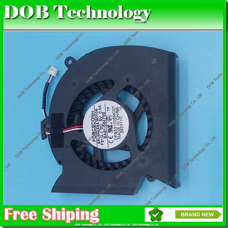 Ordinateur portable CPU Ventilateur De Refroidissement pour Samsung P530 R523 R525 R528 R530 R538 R540 R580 RV508 KSB0705HA 3 BROCHES