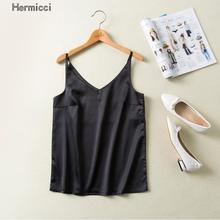 Satin V Neck Camisole Tank Casual Summer Backless Women Silk Halter Tops Sexy Sleeveless Sleepwear Camis Bralette