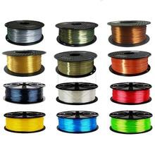 Silk Feeling Pla 1.75mm 3D Printer Filament Polymer Composites Impressora Plastic Silky Shiny For 3d Pen