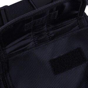 Image 4 - Nouveau talkie walkie poche poitrine pack sac à dos combiné radio titulaire sac pour GP340 CP040 BF UV 5R 888 S deux voies radios étui de transport