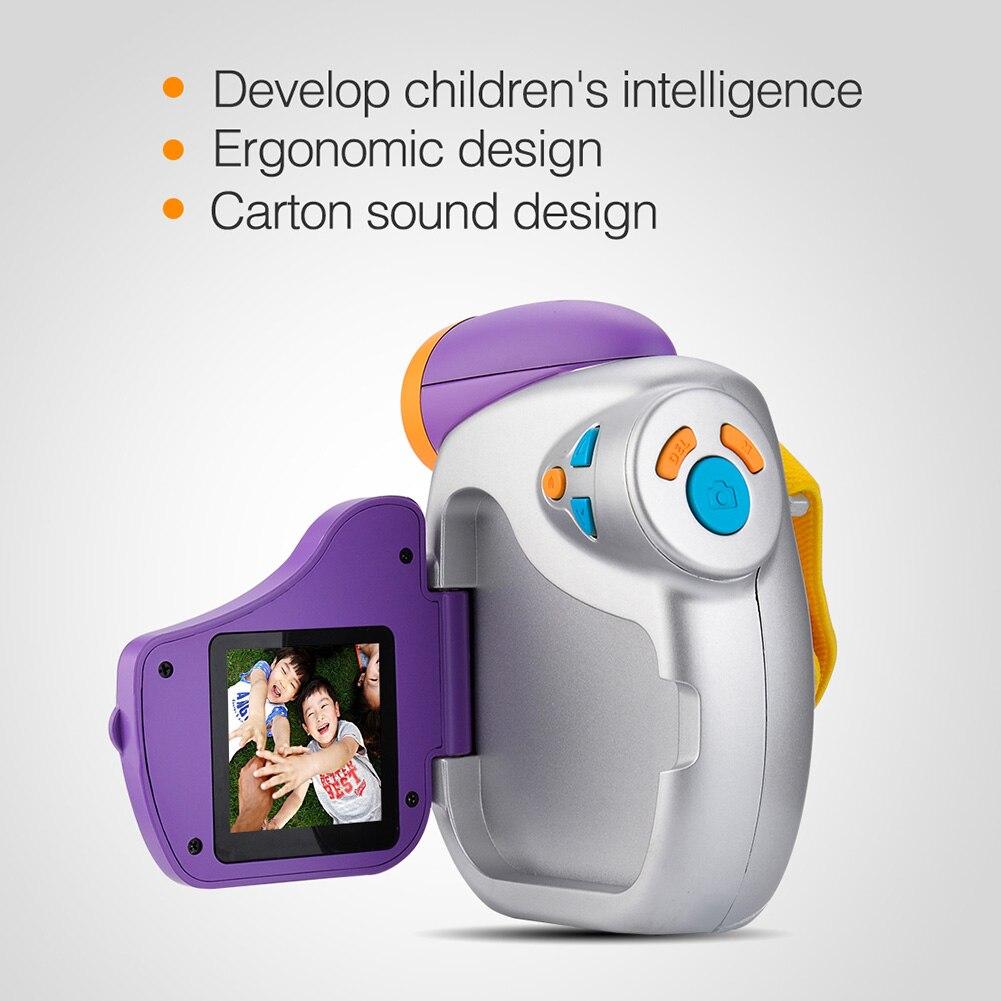 Enfants caméra DVC-7CAM enfants vidéo numérique 5.0 méga haute définition caméra enfants cadeaux d'anniversaire-17 88 YJS livraison directe - 4