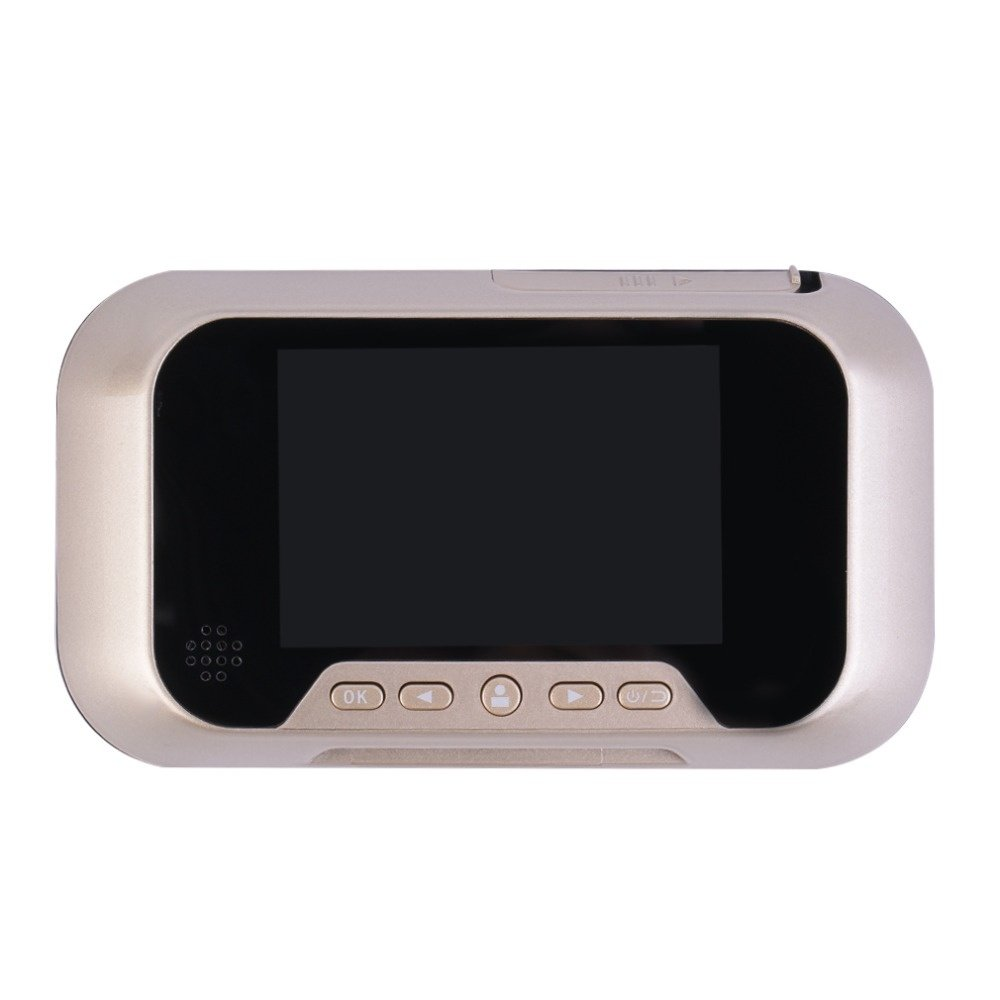 HBUDS LCD Digital Ring Monitor Door Peephole Viewer Camera Cam Pograph Doorbell Home Security Door Bell Eye Home Security