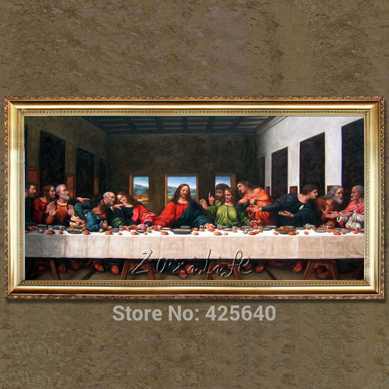 home decor jesus christ the last supper ii art decor painting print giclee art print on