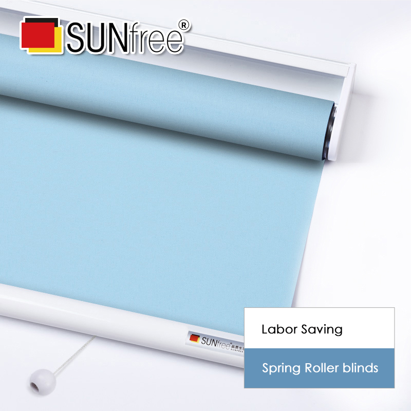 SUNFREE Spring Roller Blinds Labor Saving System Automatic Roller Blind For Office/Kitch/Bedroom Made To Measure