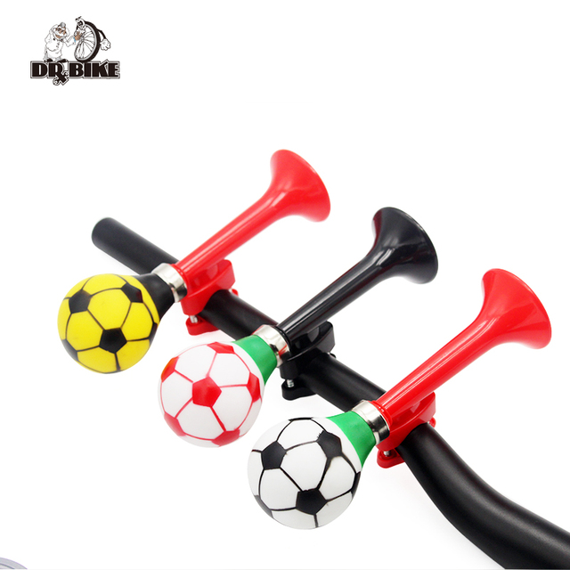 US $4 99 |2017 New Arrival Football Bike Bell Bicycle Air Horn Bike Sound  Cycling Accessories Bicycle Sound -in Bicycle Bell from Sports &