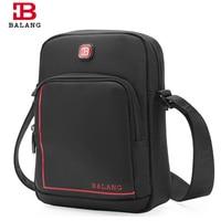 2017 New BALANG Brand Design Men Business Messenger Bags Black Waterproof Casual Cross Body Shoulder Cross