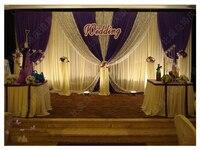 3 м * 6 м Свадебные фон свадьбы фон занавес свадебный фон свадебная композиция