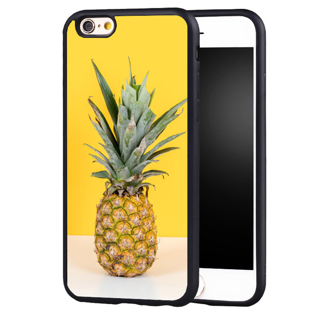 san francisco 346b7 8c61c US $4.99 |Protective Summer pineapple Case Cover for Samsung Galaxy s4 s5  s6 S7 edge S8 plus note 2 3 4 5-in Fitted Cases from Cellphones & ...