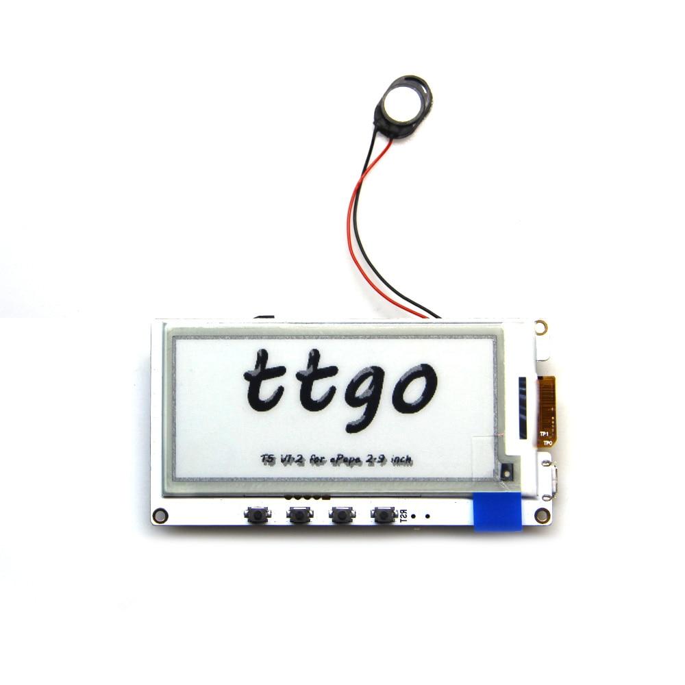 TTGO ESP32 T5 V1.3 2.9 ePaper Plus Display Module e-Ink Speakers