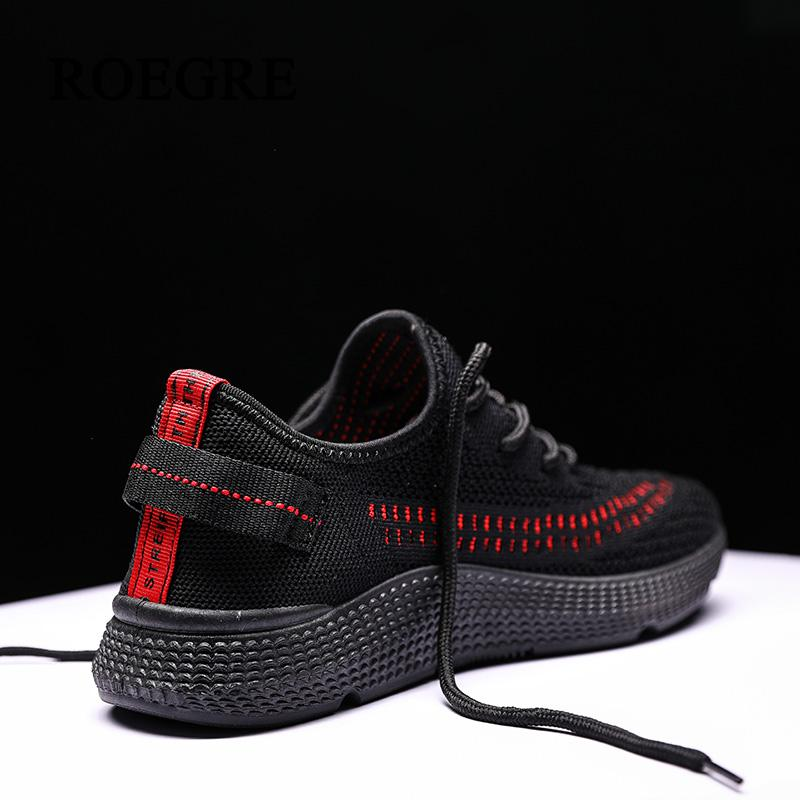 Men's Casual Shoes Summer Popular Male Lighting Shoes Lace Up Running Shoes Spider Web Printing Shoes Breathable Soft Athletics Comfortable Shoes