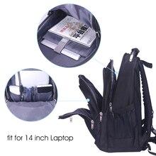 Aoking Original Brand New Patent Design Massage Air Cushion1 Men's Laptop Backpack Men Large Capacity Nylon Comfort Backpacks