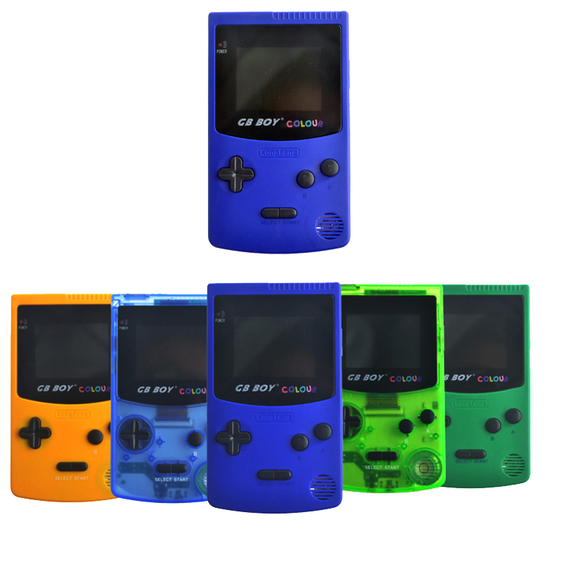 2.7 GB Boy Classic Color Colour Handheld Game Console Game Player with Backlit 66 Built- ...
