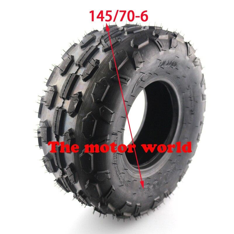 Beste 145/70-6 Atv Reifen Für Kleine Stier 6 Zoll Rad Reifen 50cc 70cc 110cc Verwenden Räder & Felgen