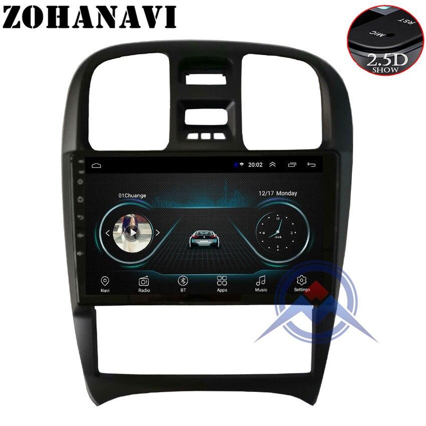 ZOHANAVI 9 inch Android 8 1 Car DVD gps forHyundai Sanat EF Tagaz 2007 2004 2009
